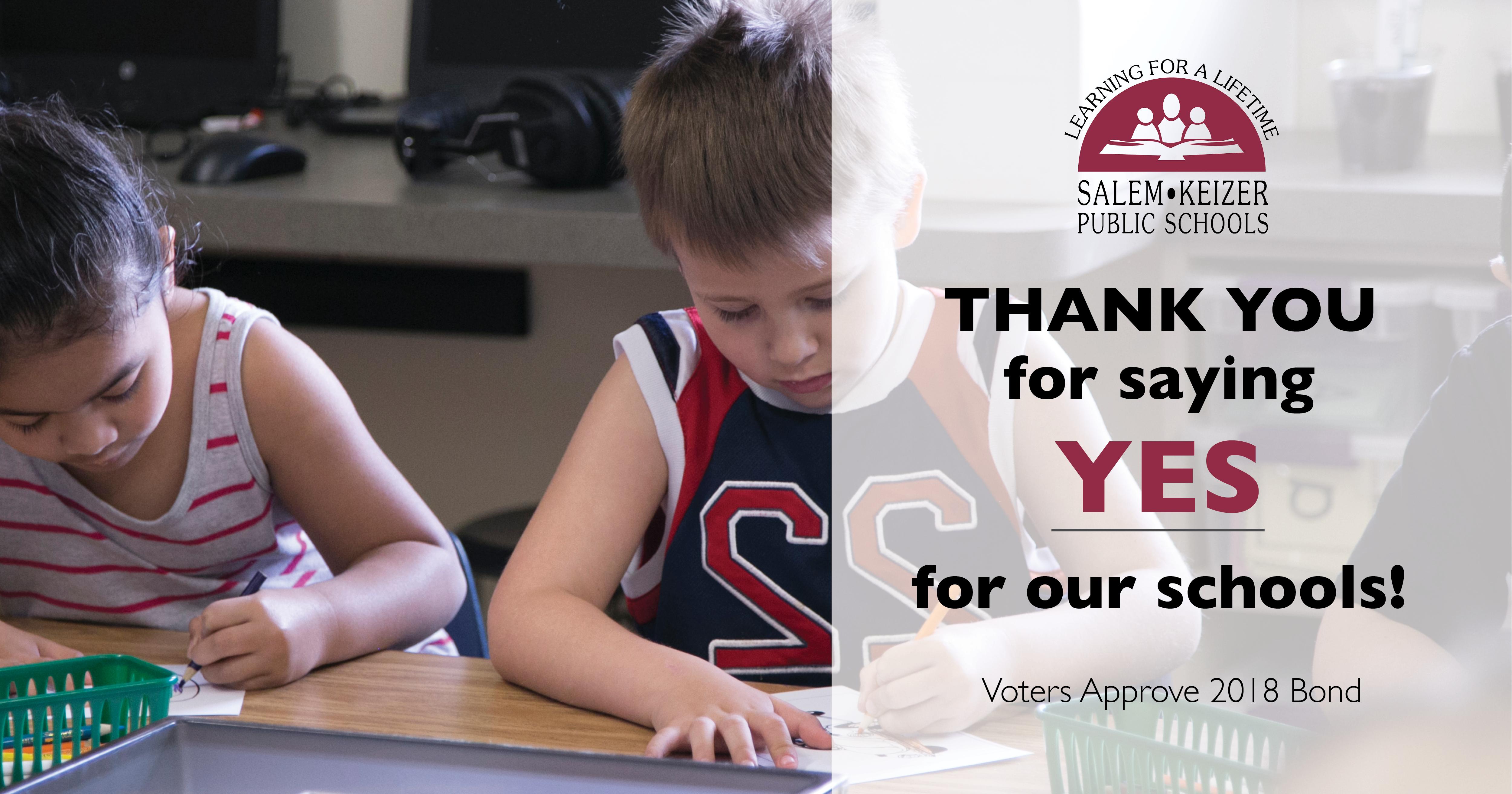 Salem-Keizer Voters Approve $619.7 Million School Bond