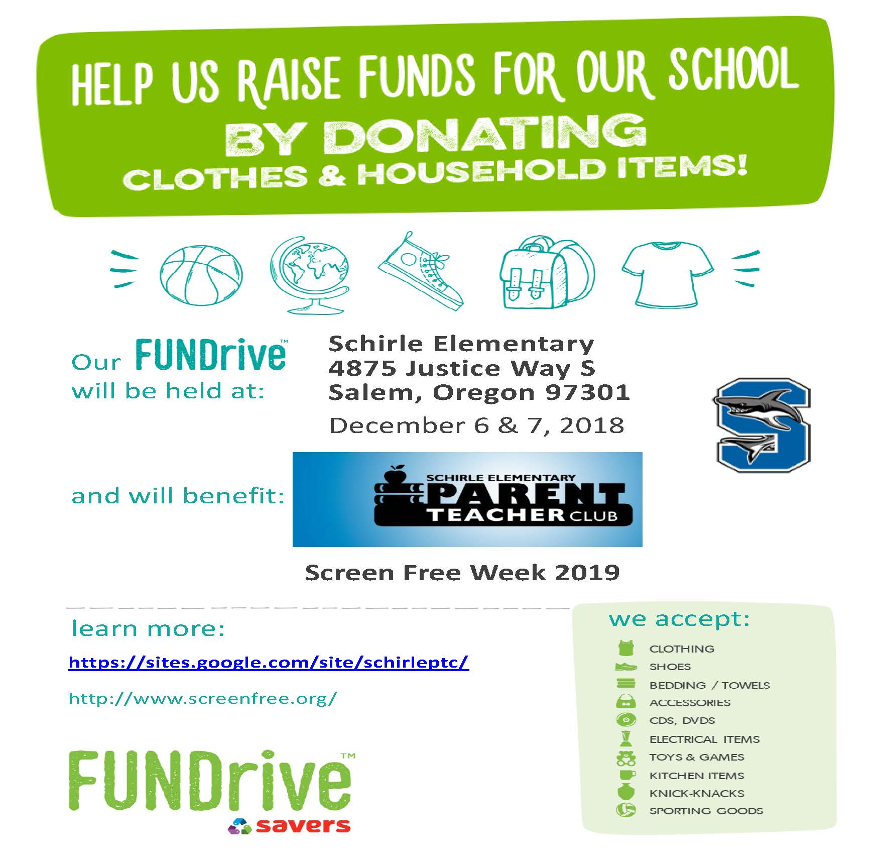 Help us raise funds for our school!